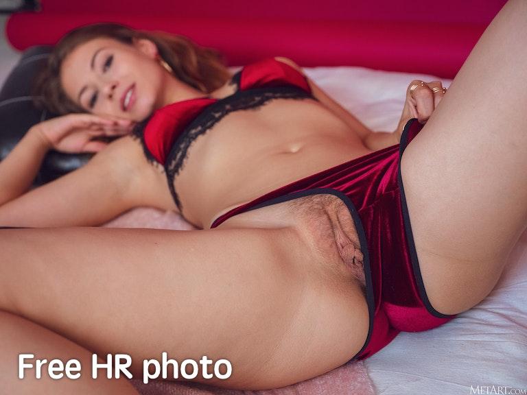 Hilary C nude pic from set Velvet Lingerie @ MetArt
